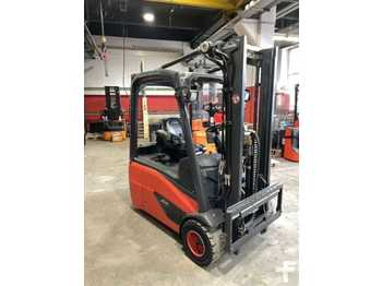 Linde E 18 - 02 - Containerf/Duplex/HH3.200mm - 3-wheel front forklift