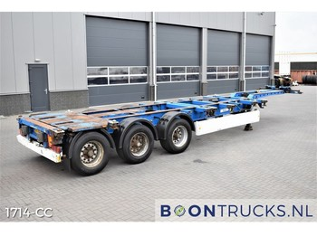 Krone SD | 2x20-30-40-45ft HC * EXTENDABLE HEAD/REAR - container transporter/ swap body semi-trailer