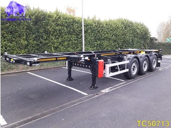Container transporter/ swap body semi-trailer TURBOS HOET 20-30 ft Container Transport