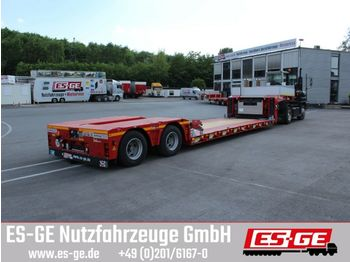 Low loader semi-trailer Doll 2-Achs-Tiefbett 2x12 t (Panther)