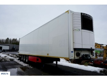 Køgel 3 axle 2 temp thermo trailer - refrigerator semi-trailer
