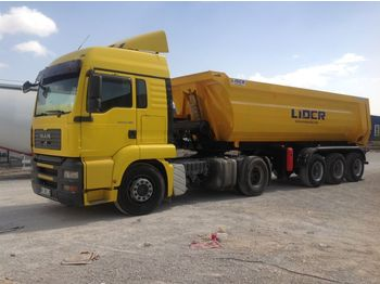 LIDER 2020 NEW DIRECTLY FROM MANUFACTURER COMPANY AVAILABLE IN STOCK - tipper semi-trailer