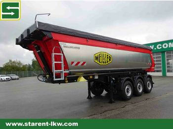 Tipper semi-trailer Meiller Thermomulde, Liftachse, Wabco,el.Schiebeverdeck