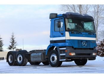MERCEDES-BENZ ACTROS 2540 1998 6x2 chassis - cab chassis truck