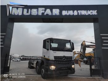 MERCEDES-BENZ AROCS 4142 - cab chassis truck