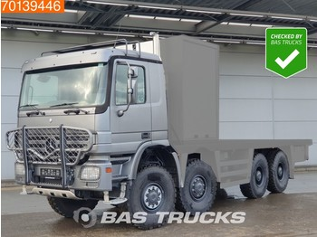 Mercedes-Benz Actros 4150 AK 8X8 CHASSIS ONLY V8 Manual Big-Axle Steelsusp. E3 - cab chassis truck