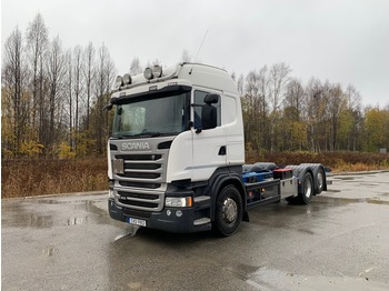 Cab chassis truck Scania R450
