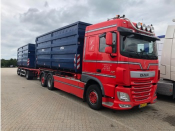 DAF XF 510 FAR - cable system truck