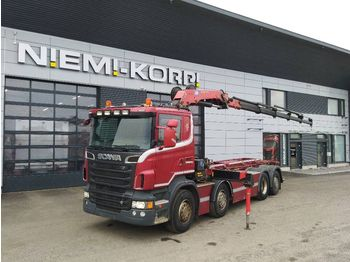 Cable system truck SCANIA R560